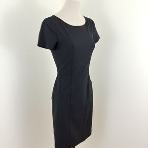 Theory Nuriana Sheeth dress black size 2 LBD